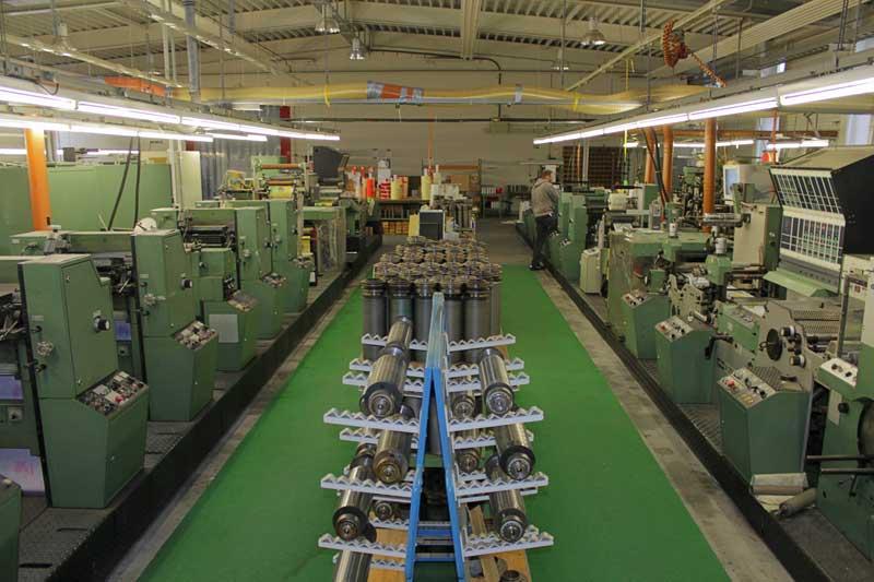 einige unserer Maschinen